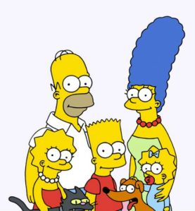 LOS SIMPSONS RECORTADA