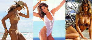 Top models de los 90. Elle Macpherson, Cindy Crawford y Claudia Schiffer